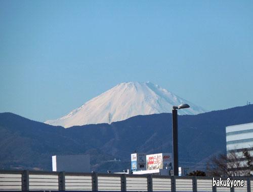 厚木からの富士山
