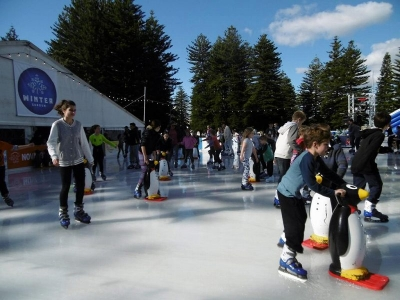 フリマントルのスケート場