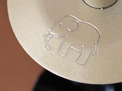 ゾウさんのマーク