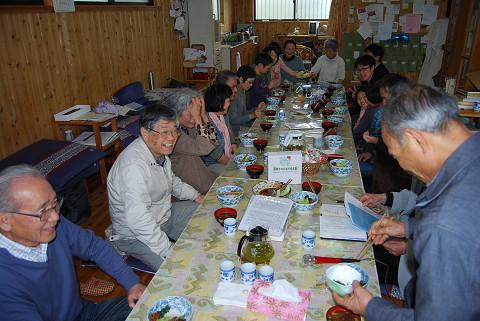茨坪の愛餐会