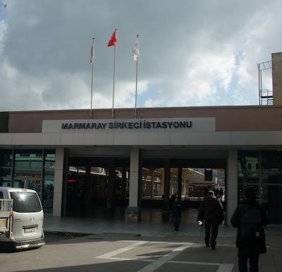 マルマライ・シルケジ駅