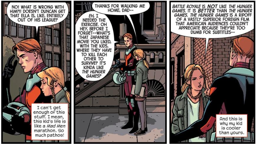 antman issue 1 strip