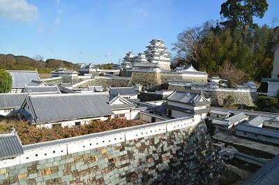 ミニ姫路城全景
