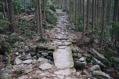 一枚岩の橋