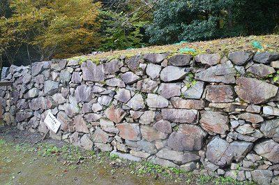 下部分が築城当時の石垣