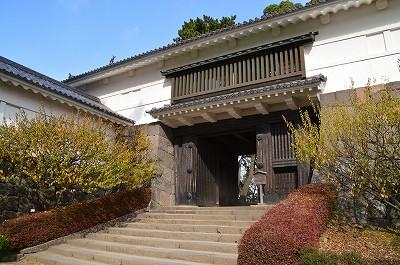 本丸入口、常盤木門