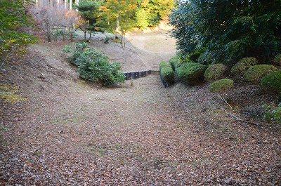 山中城溜池