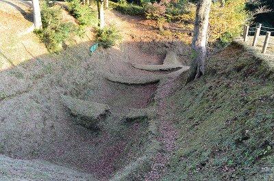 本丸周囲の堀