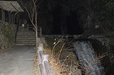 夜の鼓が滝