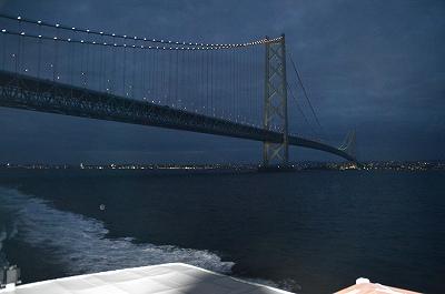 明石海峡大橋と夜景