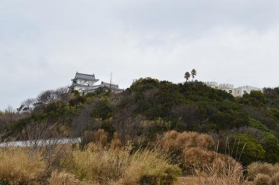淡路城と・・・洋城風の建物