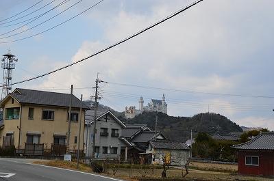 姫路の山に西洋の城!?