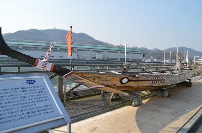白龍城の小舟