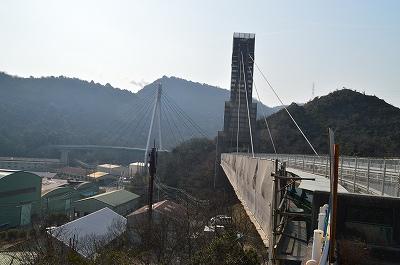 迫力の二ツ橋