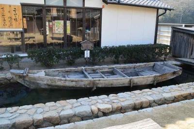 実際に使われていた伝馬船