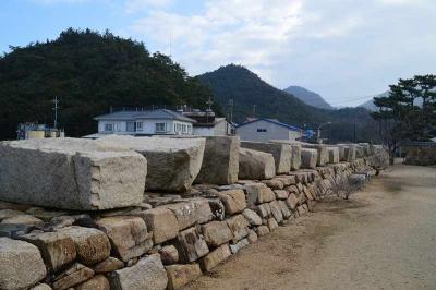 残された石がこんないっぱい