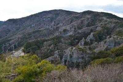 寒霞渓は奇岩断壁を堪能できる