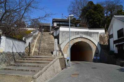 トンネルも美観地区に