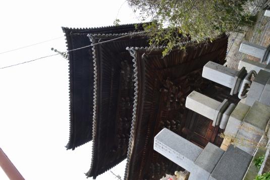 西園寺の三重塔