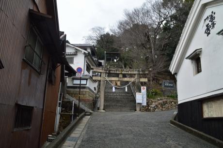 阿智神社に登ってみよう