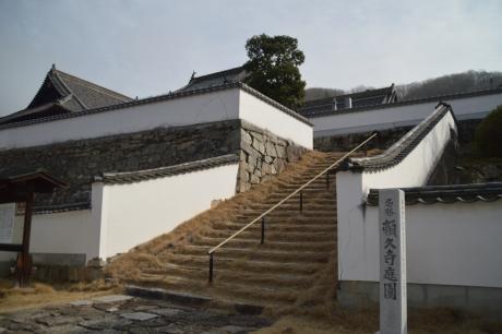 頼久寺入口