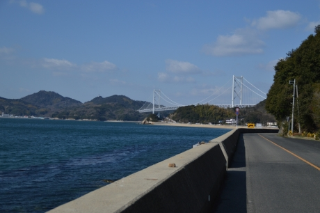因島に渡る橋