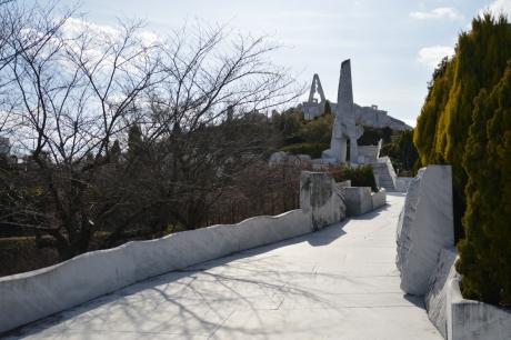 大理石の通路
