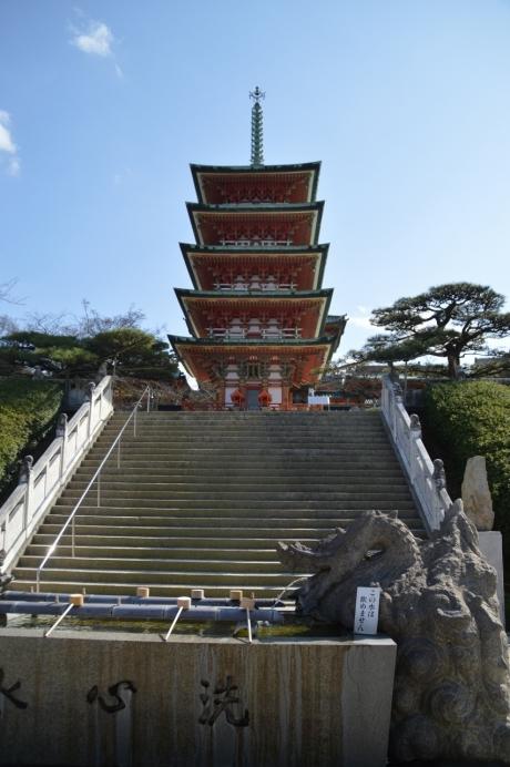 耕三寺の五重塔