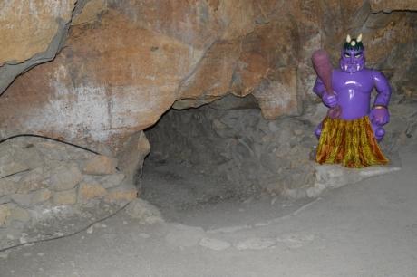 人工洞窟らしいね