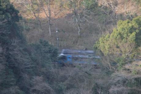 2駅は大分谷の底