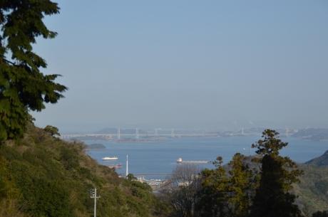1瀬戸大橋が見える