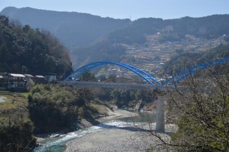 6青い橋と、赤い橋