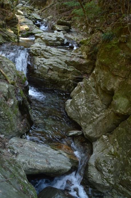 10いくつも連なる滝