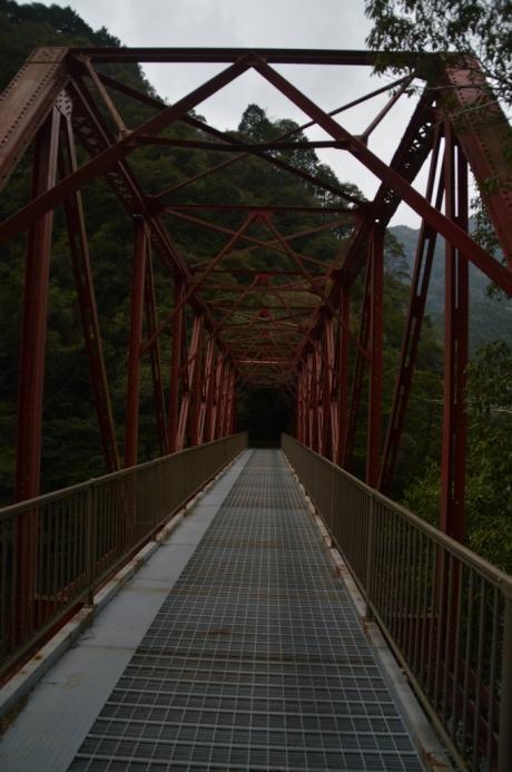 17森林鉄道跡を走れる