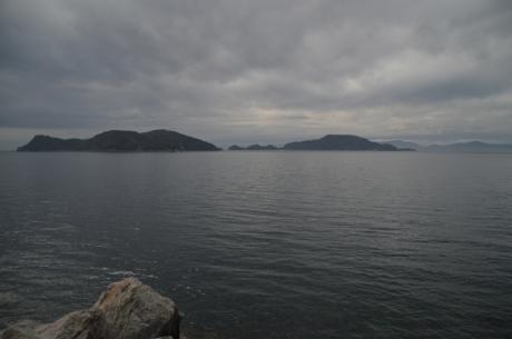 8向こうに佐田岬半島が