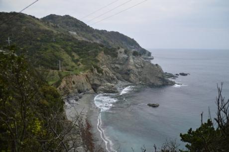 8荒々しい海岸