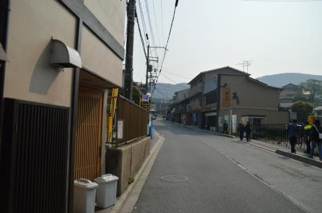 5清水寺へ向かう道