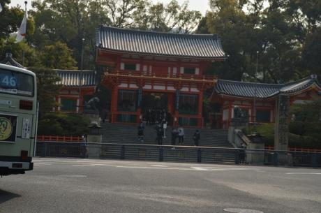 7四条通の八坂神社