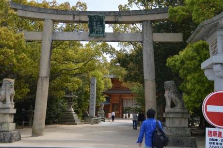 8やってきました大山祇神社