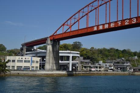 1江田島に向かうかきしま海道