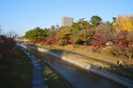 1城の南を流れる乙川