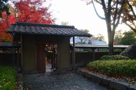 16龍城堀近くのお茶屋