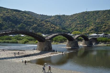 5錦帯橋に到着