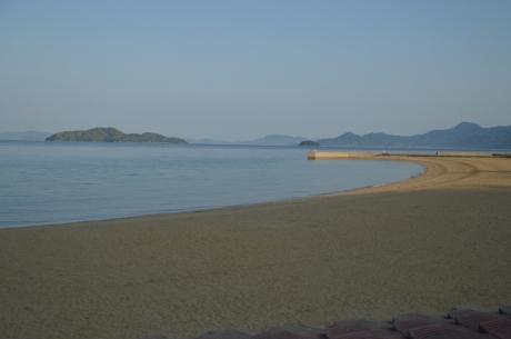 13夕方の海