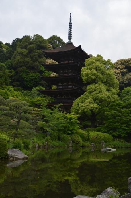 23瑠璃光寺の五重塔