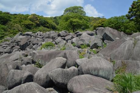 15万倉の大岩郷