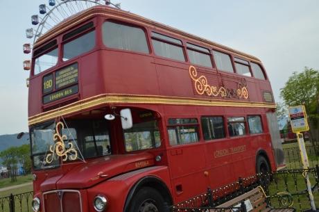 20イギリスから譲り受けた二段バス