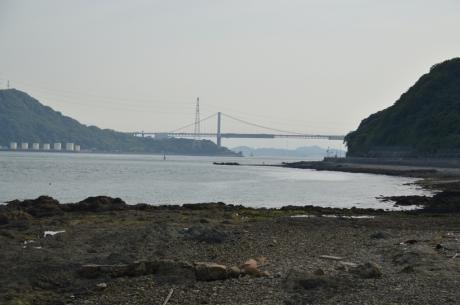 18関門海峡が見えて来た