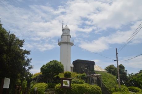 9要塞跡に建つ灯台