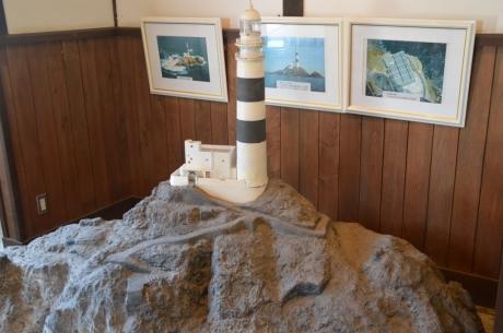 18灯台の模型